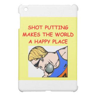 shot put puting putter iPad mini covers