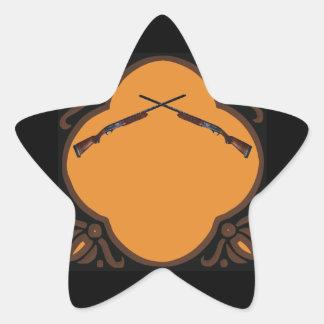 Shotgun Wedding Star Sticker