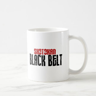 Shotokan Black Belt Karate Coffee Mug