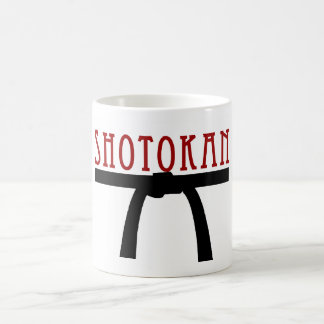 Shotokan Black Belt Mug
