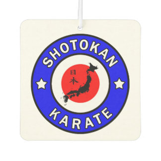 Shotokan Karate Car Air Freshener