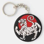 Shotokan Rising Sun Keychains