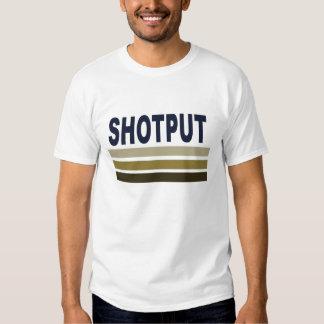 Shotput throwers are powerful in this shirt! shirt