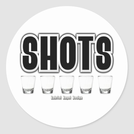 Shots Stickers