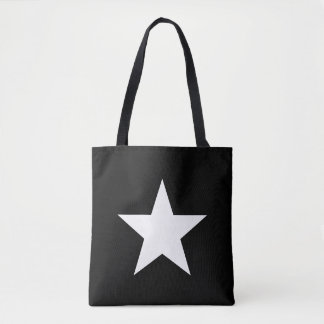 Shouder-bag Star Black Tote farrowed