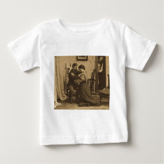 Shoulder Arms Antique Grayscale Vintage Stereoview Tshirts