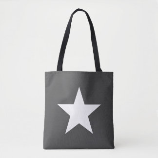 Shoulder-bag Star Dark Grey Gray Tote farrowed