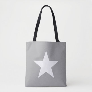 Shoulder-bag Star Grey Tote farrowed