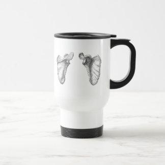 Shoulder blades coffee mug