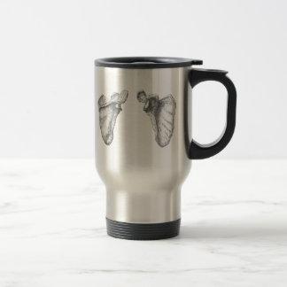 Shoulder blades coffee mugs