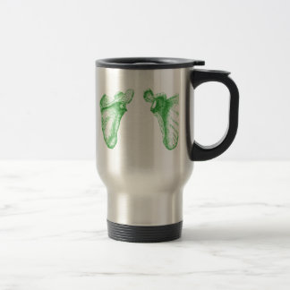 Shoulder blades stainless steel travel mug