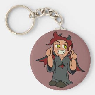 Shoulder Devil Keychain