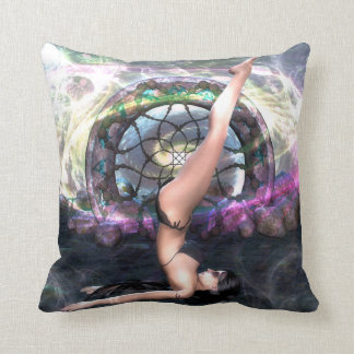 Shoulder Stand Yoga Collection Pillow