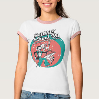 Shout and Feel It Ringer T Shirt