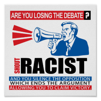 Shout Racist Posters