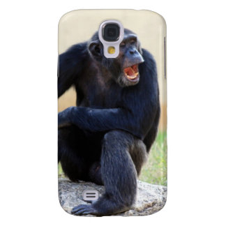 Shouting Chimp iPhone 3G Case Galaxy S4 Cases