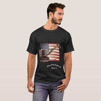 Shovel CRANE OPERATOR YOUR LOCAL FLAG OPERATOR T-Shirt