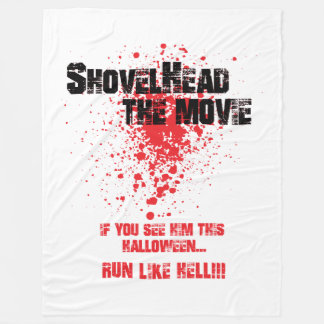 "SHOVELHEAD THE MOVIE - ""Bloody Good"" Blanket"