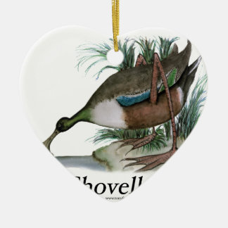 Shoveller duck, tony fernandes christmas ornament