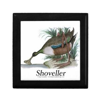 Shoveller duck, tony fernandes keepsake boxes