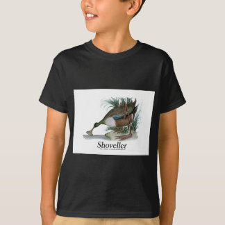 Shoveller duck, tony fernandes T-Shirt