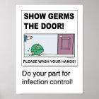 Show Germs the Door poster