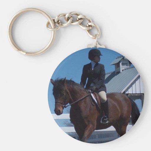 Show Horse Keychain