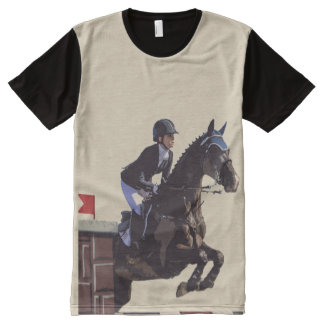 Show Jumper All-Over Print T-Shirt