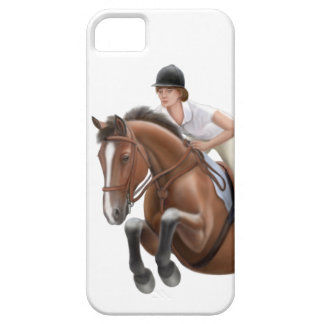 Show Jumper Horse iPhone Case Case For The iPhone 5