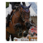 Show Jumping-Equestrian Art Poster
