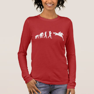 Show jumping Eventing Horse Show Grand Prix Long Sleeve T-Shirt