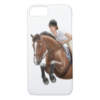 Show Jumping Horse Equestrian iPhone 7 Case