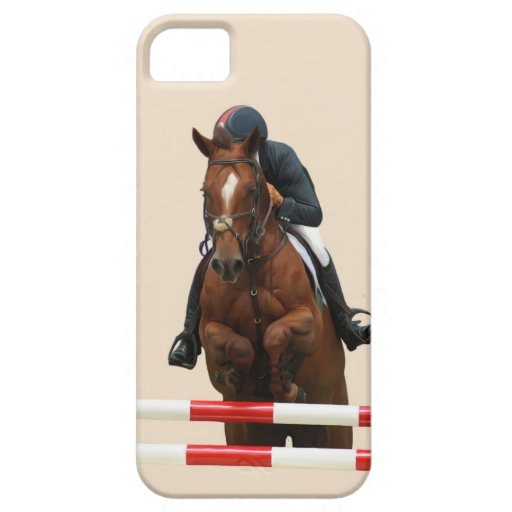 Show Jumping Iphone 5 cover