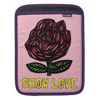 """""""Show Love"""" Ipad Soft Case iPad Sleeve"""