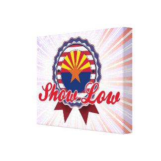 Show Low, AZ Gallery Wrap Canvas