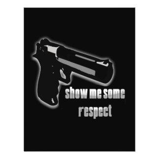 Show Me Some Respect 21.5 Cm X 28 Cm Flyer