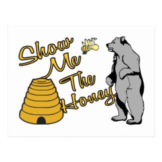 Show Me The Honey Postcard