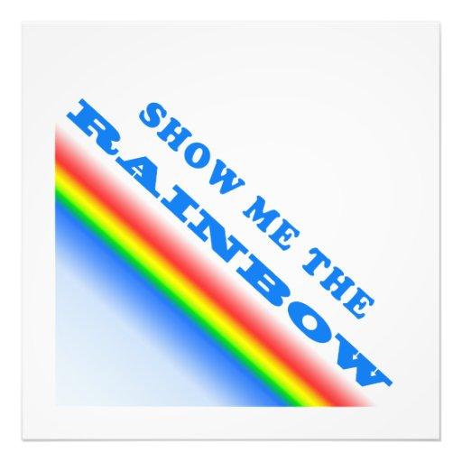 Show Me The Rainbow Art Photo