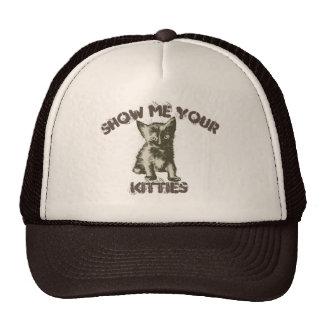 Show Me Your Kitties Cap