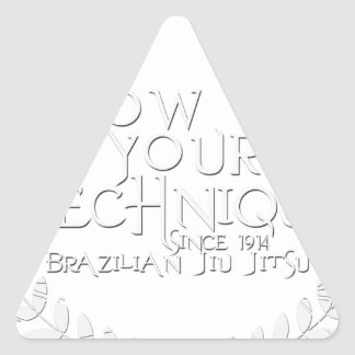 Show Me Your Technique - since 1914 Stickers