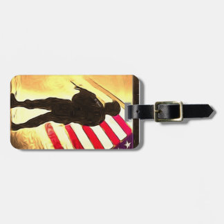 Show Military Pride While TDY Luggage Tag