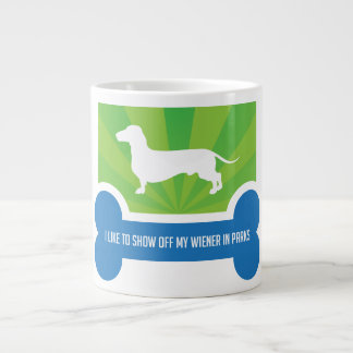Show off my Weiner Dog Dachshund Coffee Mug