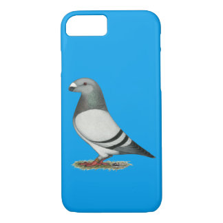 Show Racer Blue Bar Pigeon iPhone 8/7 Case