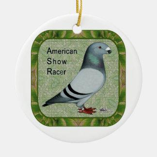Show Racer Framed Christmas Tree Ornaments