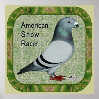 Show Racer Framed Posters