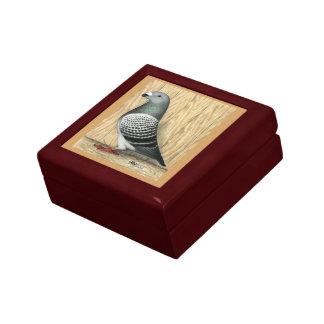Show Racer Medium Checker Small Square Gift Box