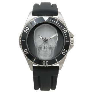 show radio operator skull watch