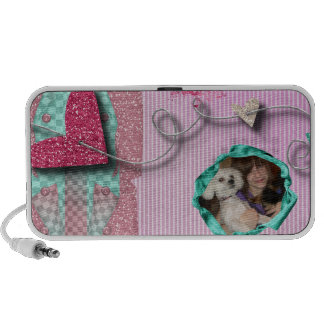 show some love add a photo notebook speakers