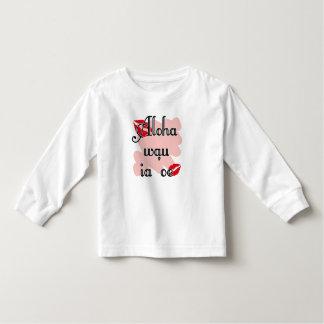 Show someone how much you love them - Aloha wau ia T Shirts