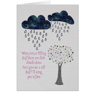 Show someone you care and are thinking of them. greeting card